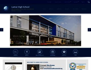 lamarhs.org screenshot