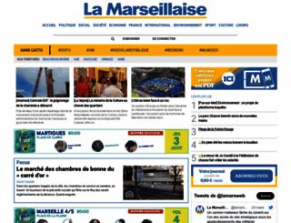 lamarseillaise.fr screenshot