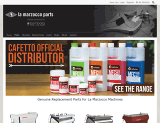 lamarzoccoparts.com.au screenshot