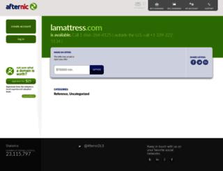 lamattress.com screenshot