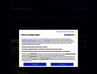 lamborghini-gallardo.autobazar.eu screenshot