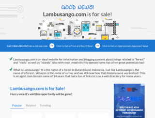 lambusango.com screenshot