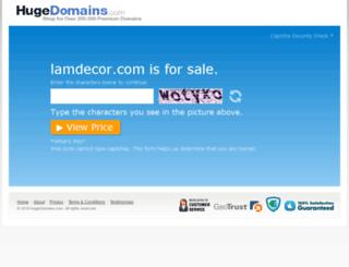 lamdecor.com screenshot