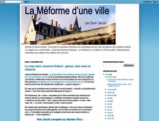 lameformeduneville.blogspot.fr screenshot