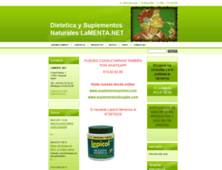 lamenta.webnode.com screenshot