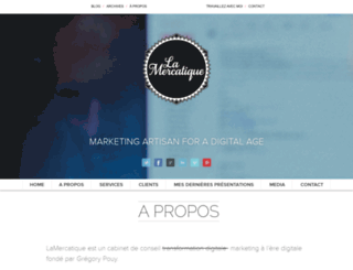 lamercatique.fr screenshot