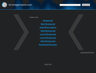 lameregermaine.com screenshot
