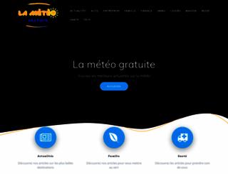 lameteogratuite.com screenshot