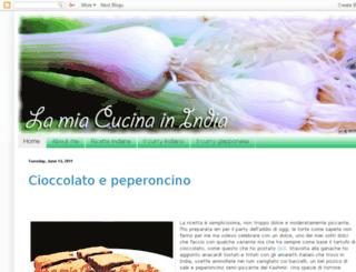 lamiacucinainindia.blogspot.com screenshot