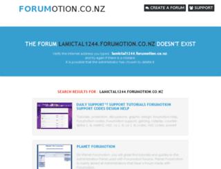 lamictal1244.forumotion.co.nz screenshot