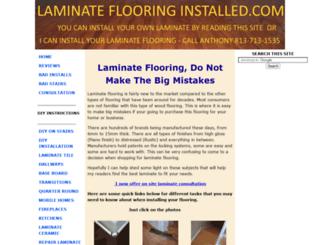 laminate-flooring-installed.com screenshot