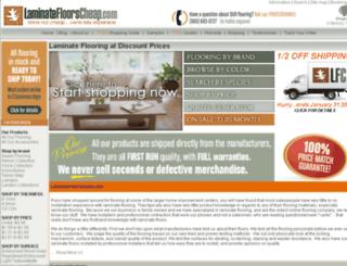 laminatesfloorscheap.com screenshot