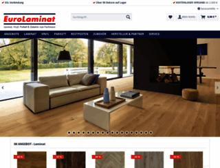 laminatshop-fachmarkt.de screenshot