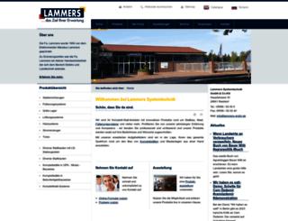 lammers-gmbh.de screenshot