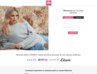 lamodefeminine.com screenshot
