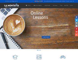 lamontana.com screenshot