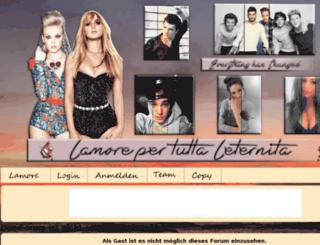 lamore-per-tutta-leternita.xobor.de screenshot