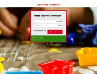 lamorinda.curacubby.com screenshot