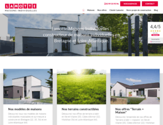 lamotte-maisons-individuelles.fr screenshot