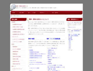 lamp-guide.com screenshot