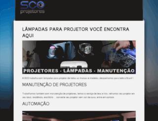 lampadasparaprojetor.com.br screenshot
