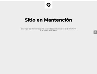 lamparaschile.cl screenshot