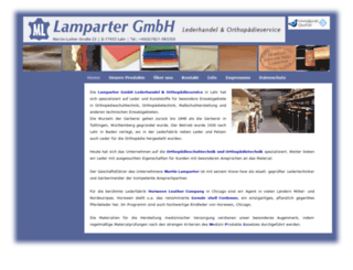 lamparter-ortho.com screenshot