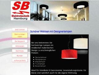 lampen-deluxe.eu screenshot