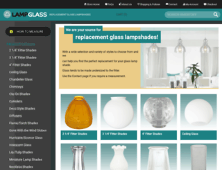 lampglass.nu screenshot