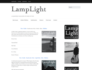 lamplightmagazine.com screenshot