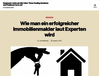 lampmann-behn.de screenshot