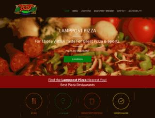 lamppostpizza.com screenshot