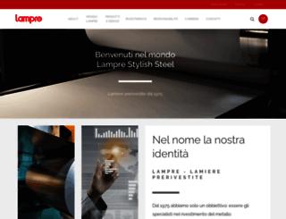 lampre.com screenshot