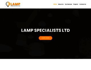 lampspecialists.co.nz screenshot