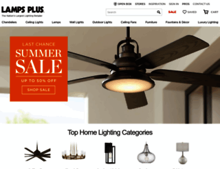 lampsplus.com screenshot