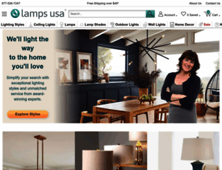 lampsusa.com screenshot