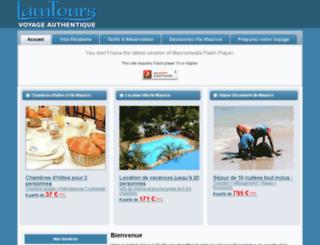lamtours.com screenshot