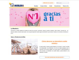 lamuebleriademicasa.es screenshot