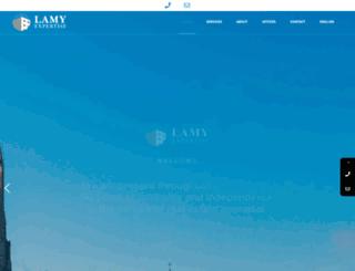 lamy-expertise.ch screenshot