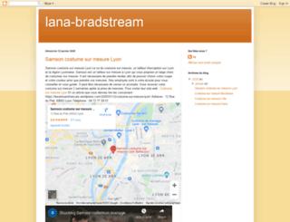 lana-bradstream.blogspot.com screenshot