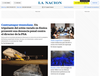 lanacion.com.ar screenshot