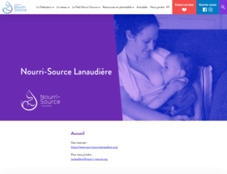 lanaudiere.nourri-source.org screenshot