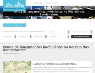 lancamentos-no-recreio.imobiliariariodejaneirorj.com screenshot