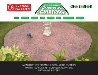 lancashireandcheshiredriveways.com screenshot
