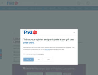 lancashirejobstoday.co.uk screenshot