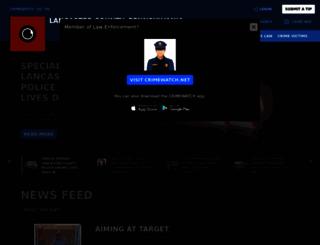 lancaster.crimewatchpa.com screenshot