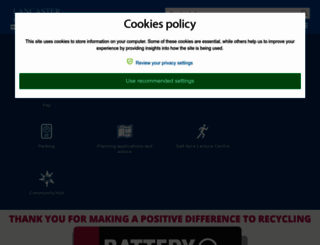 lancaster.gov.uk screenshot
