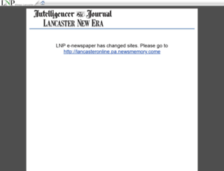 lancasteronline.newspaperdirect.com screenshot