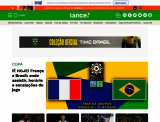 lance.com.br screenshot