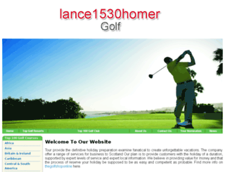lance1530homer.com screenshot